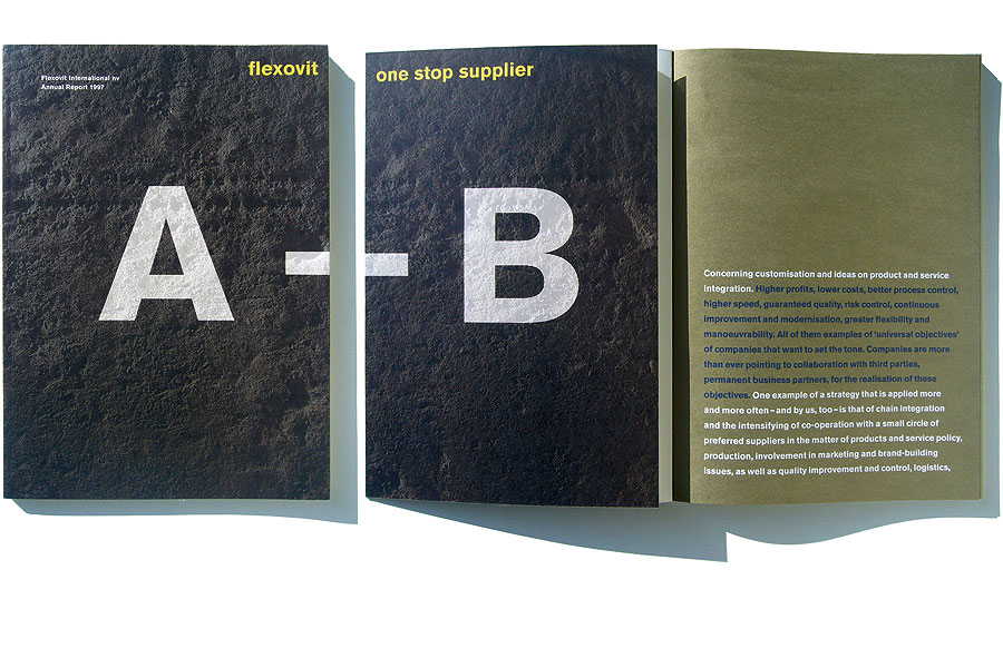 Detail of Flexovit –<br/>Annual Report